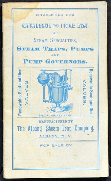 Albany Steam Trap Company, 1889 (est.)