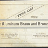 Aluminum Brass and Bronze Company (The), Bridgeport, CT., 1892