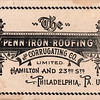 Penn Iron Roofing and Corrugating Company, est. 1894