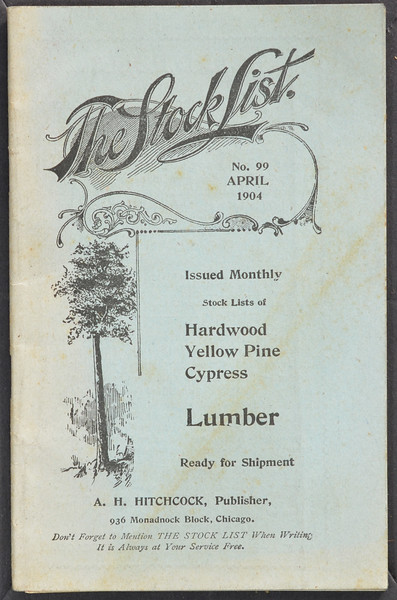 The Stock List No. 99, April 1904