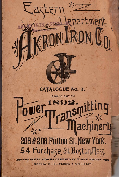 Akron Iron Co., Akron, Ohio, 1892