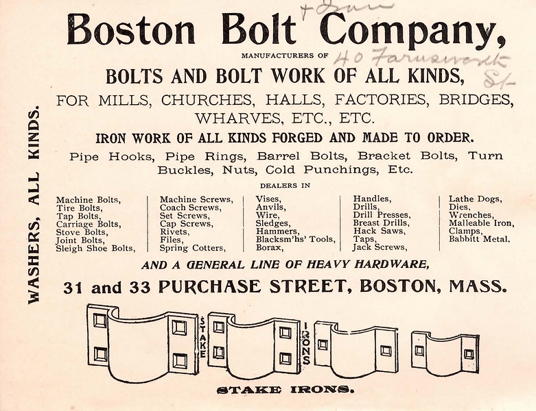 Boston Bolt Company