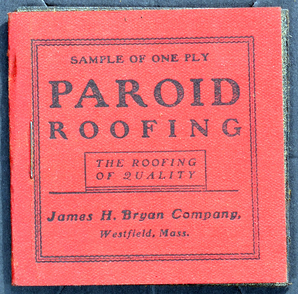 F.W. Bird & Son, Paroid Sample, Undated