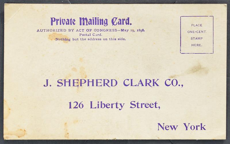 J. Shepherd Clark Co., Publisher, El Comercio