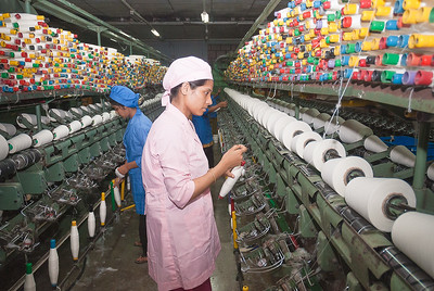 Garments Workers with Twist Machineries Chittagong