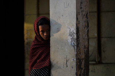 Poor Rural Child Portrait By Sanjoy Shubro