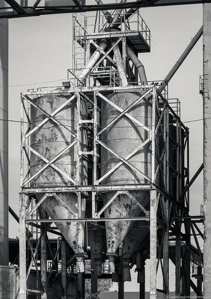 Fragment of a grain elevator
