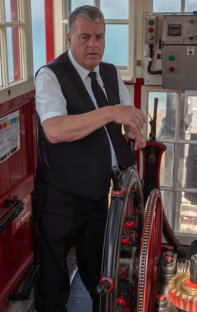 Funicular Operator - Saltburn-by-the-Sea - North Yorkshire UK 2019