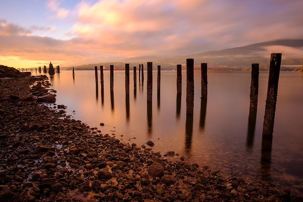 Old Pier at Barnet Marine Park