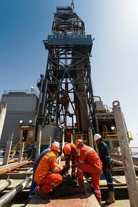 Campo Rospo Mare: Perro Negro 8 : Operazioni di perforazione su piattaforma Rospo Mare C