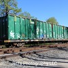 USA Waste Disposal Services Incorporated 89' Waste Disposal Flat Car No. 40206