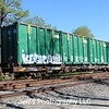 USA Waste Disposal Services Incorporated 89' Waste Disposal Flat Car No. 638568