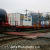 DOW Chemical Safety Train Flat Car No. 800428