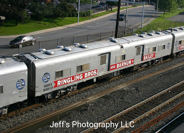 Ringling Brothers and Barnum & Bailey Circus Stock Car No. 60010