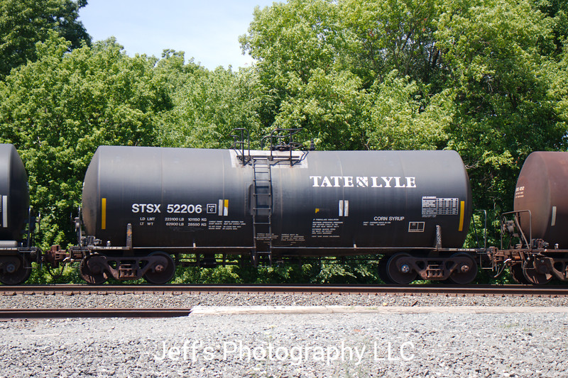 Tate & Lyle Ingredients Americas Incorporated Trinity 26,772 Gallon Corn Syrup Tank Car No. 52206