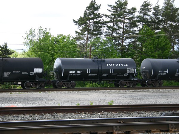 Tate & Lyle Ingredients Americas Incorporated Trinity 17,600 Gallon Corn Syrup Tank Car No. 1837