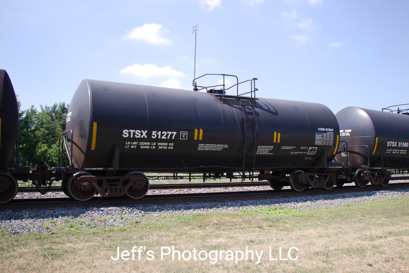 Tate & Lyle Ingredients Americas Incorporated Trinity 26,712 Gallon Corn Syrup Tank Car No. 51277