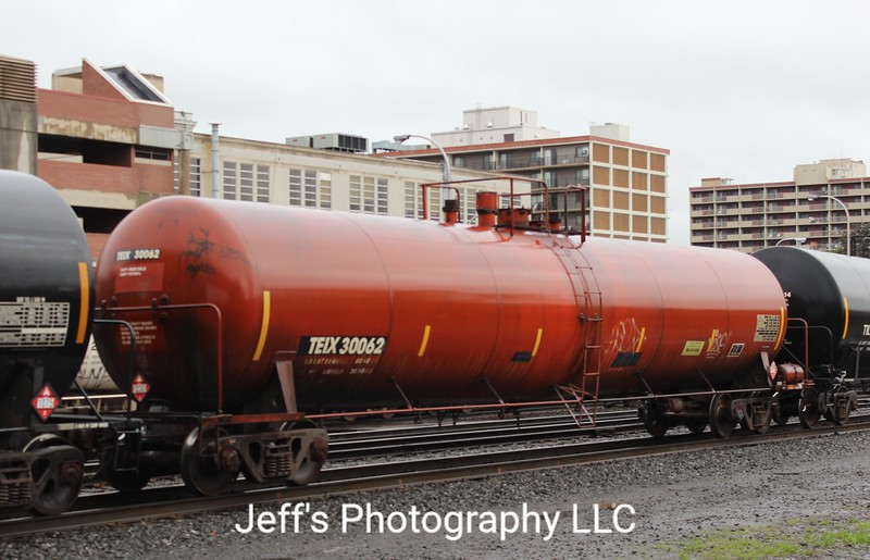 Transportation Equipment Incorporated 30,000 Gallon Tank Car No. 30062