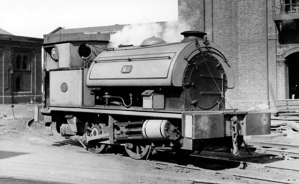 No. 5 12th April 1958 Beckton Gas Works No.5, a Hawthorn Leslie 0-4-0ST (Works No. 3794 of 1931).  Delivered new to the Gas Light & Coke Co. at their Beckton Gas Works.  Scrapped on site by Drew & Sawyer of Belvedere, Kent in June 1959.
