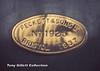 1925 makers plate Peckett Saddletank Sep 1965