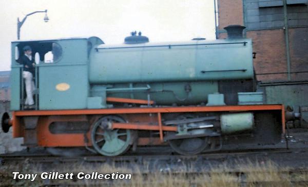 2086 Peckett saddletank Sep 1965 (1)