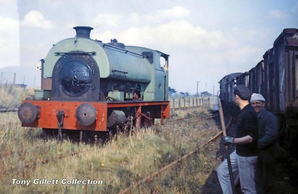 2086 Peckett saddletank Sep 1965 (0)