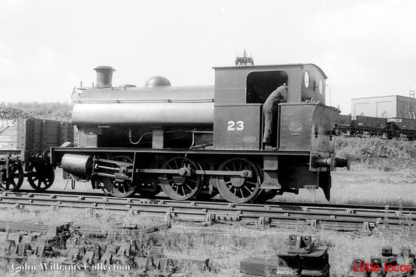 NCB No 23 Hawthorne Leslie 2719 1907 Marley Hill Colliery (2)