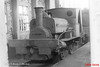 The 0-4-0ST locomotive (now preserved at Beamish Museum) is the former Seaham Harbour Dock Company No.18. It was built in 1877 (Works No.683) as a well tank, later modified with side 'wing' tanks and in 1936 outshopped as a saddle tank after extensive rebuilding at the Seaham Harbour Engine. Retained to work limited clearance lines under the coal staithes