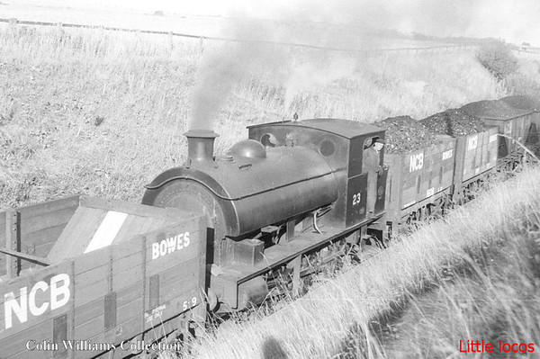 NCB No 23 Hawthorne Leslie 2719 1907 Marley Hill Colliery (1)