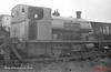 NWGB Peckett 1999 at Darwen Gas Works August 1966 (b-w)
