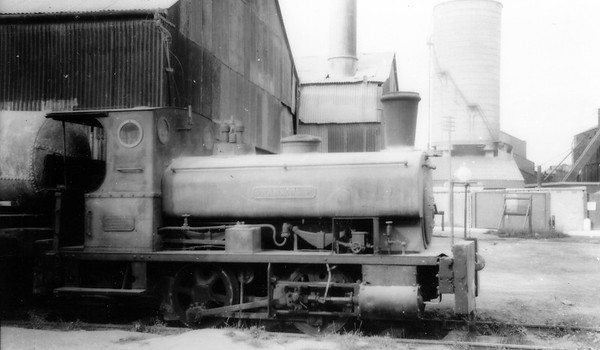 Andrew Barclay 0-4-0ST No. 699 Swanscombe (The oldest surviving Barclay locomotive in the United Kingdom)