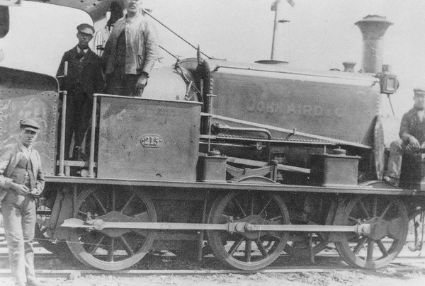 215 John Aird & Co Manning Wardle 0-6-0T probably working on Orpington line construction