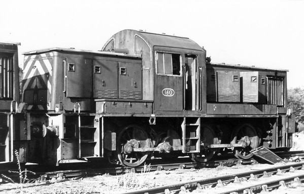160 Corby Quarry shed ex BR Class 14