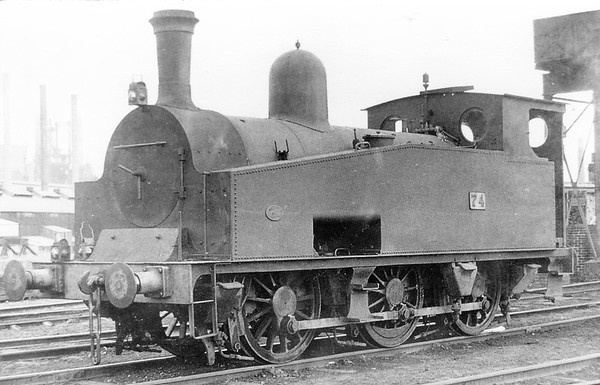 74 0-6-0T Manchester Ship Canal co