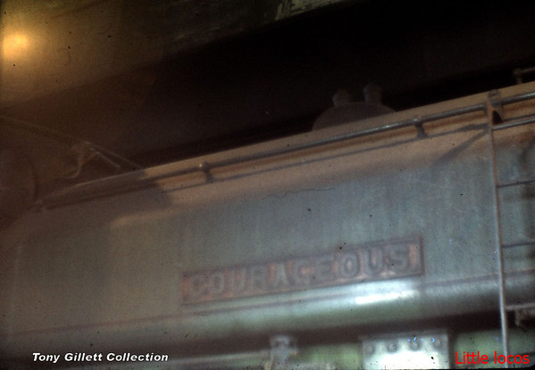 2892 Courageous nameplate