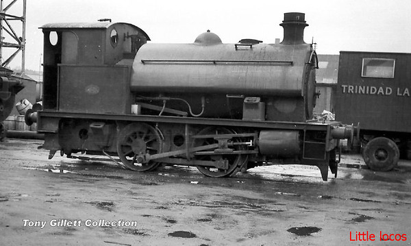 RSH 7047 of 1941. This was not one of the Preston Docks fleet. It belonged to T W Ward Ltd, the engineers and machinery merchants, who had a depot in the docks.