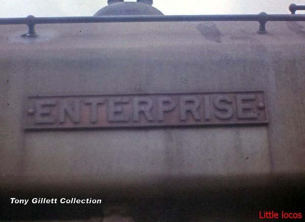 2840 Enterprise nameplate