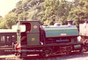 9) HL3135 / 1915 stabled at Haven St [Isle of Wight Steam Rly]with ID 37 Vectis at Haven Street yard IOW