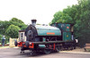 7) HL3135 / 1915 stabled at Haven St [Isle of Wight Steam Rly]with ID 37 Invincible