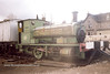 23) Andrew Barclay 2020 / 1936 named Balmenach stabled at Boat of Garten [Strathspey Rly]