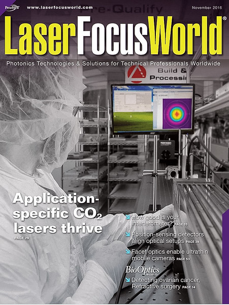 Access Laser on cover of Laser Focus World Magazine