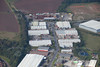 Aerial photos of Blenheim Industrial Estate in Bulwell, Nottinghamshire.