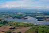 Blithfield Reservoir aerial photo.