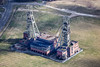 Clipstone Colliery from the air.