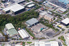 Aerial photos of Clover Nook Industrial Estate in Alfreton, Derbyshire.
