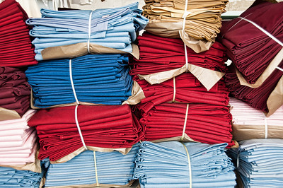 colorful-laundry-stacks