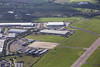 Aerial photos of Coventry Airpark and Middlemarch Business Park nr Coventry Airport.