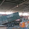 Loading at Recycling Plant
