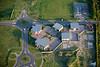 An aerial view of Fernwood Business Park near Newark, Nottinghamshire.
