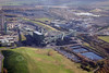 Aerial photo of Harwoth Colliery in Nottinghamshire.